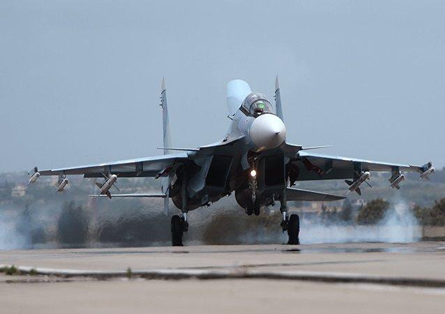 Caza ruso Su-30
