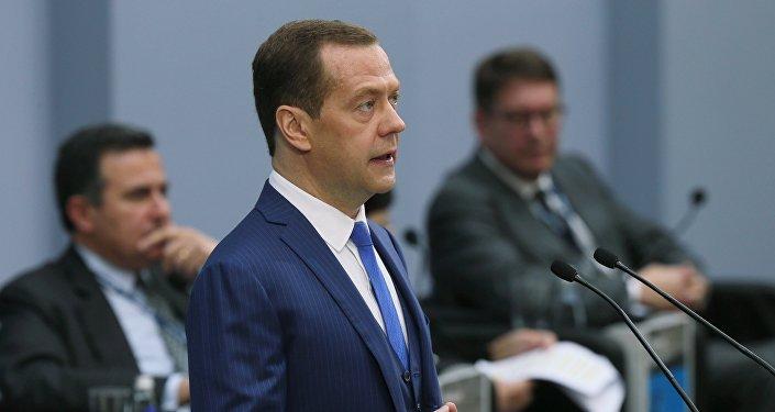 Primer ministro de Rusia, Dmitri Medvédev