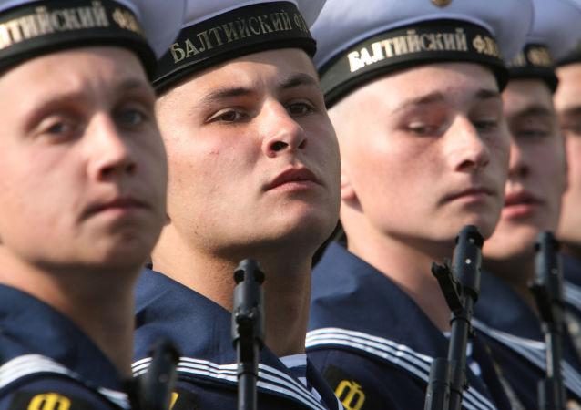 Marineros de la Flota rusa del Báltico (archivo)