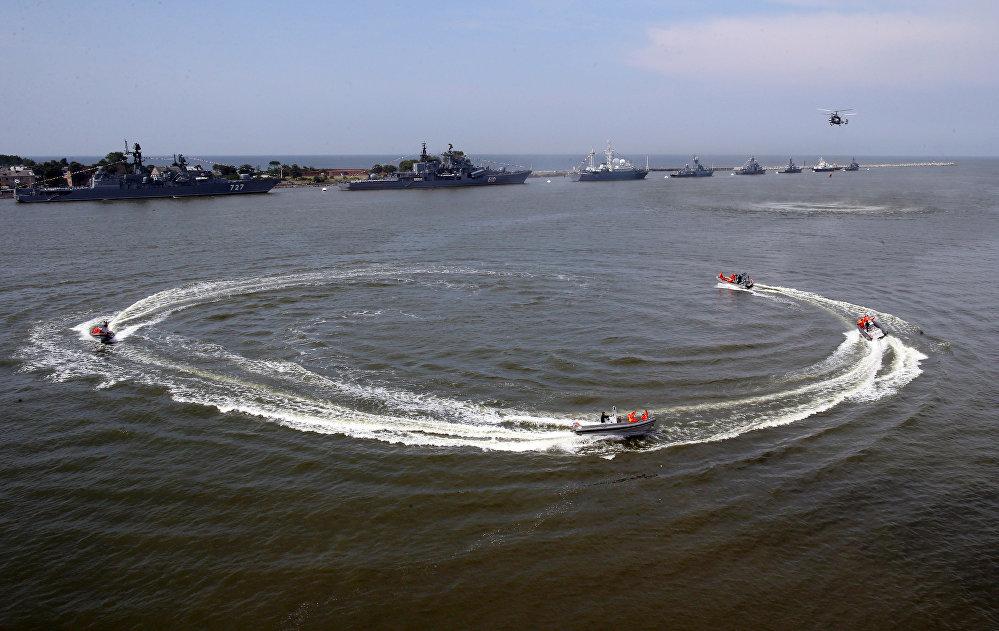 Hazañas y éxitos de la Flota del Báltico