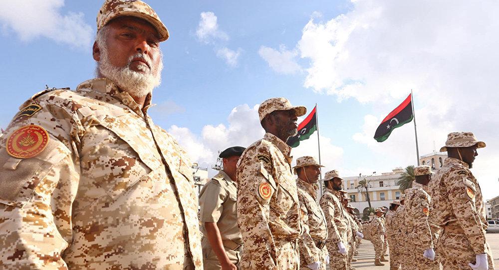 Soldados libios