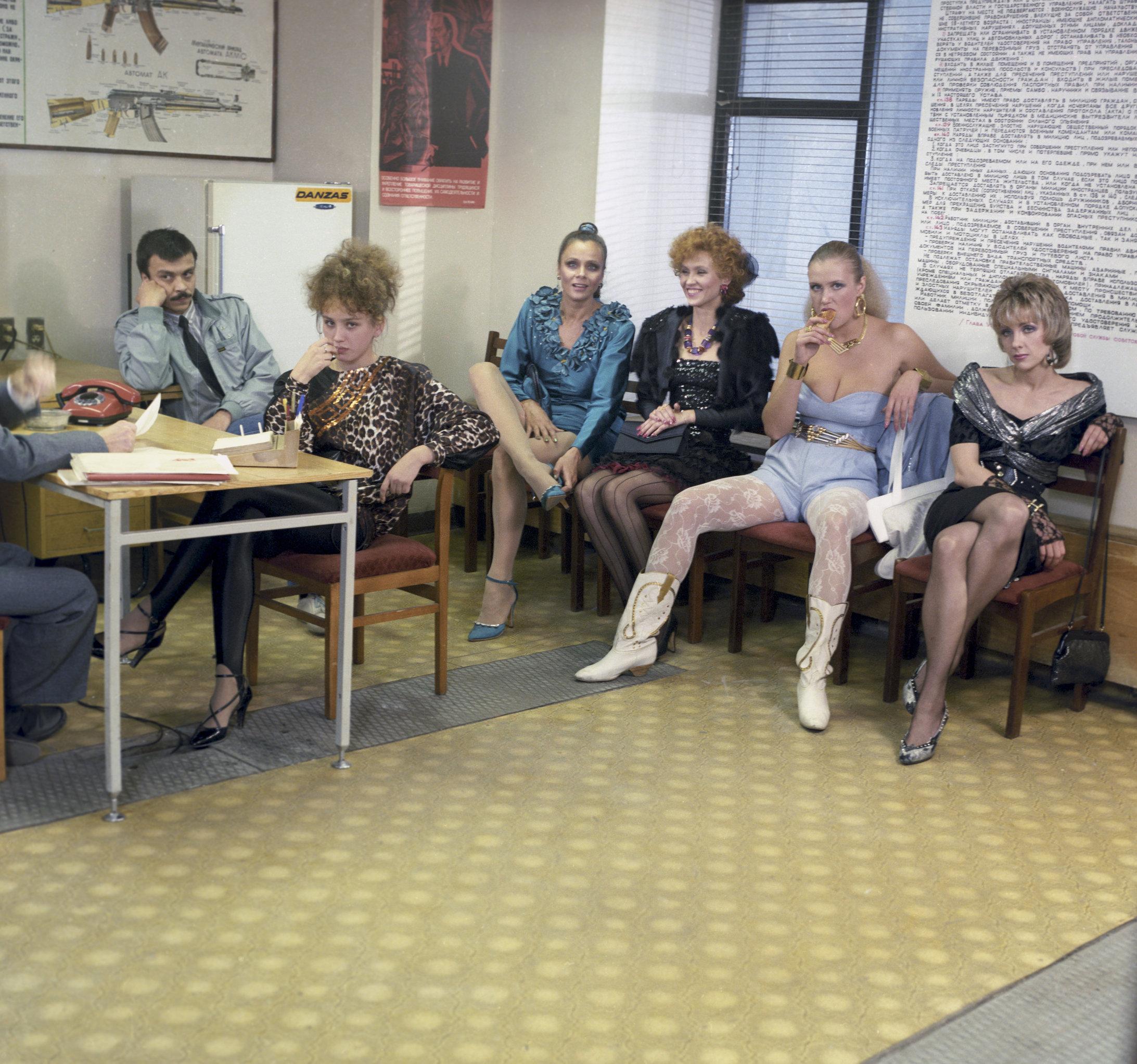 Cuadro de la película Interdevochka del director ruso Todorkovsky