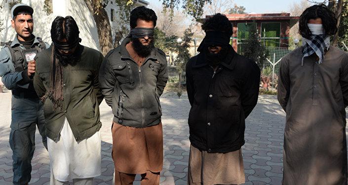 Captura de miembros del autoproclamado Estado Islamico