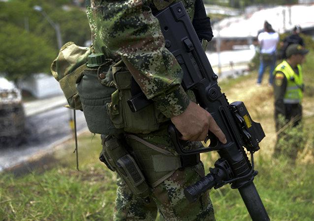 Agente de la Fuerza Pública de Colombia