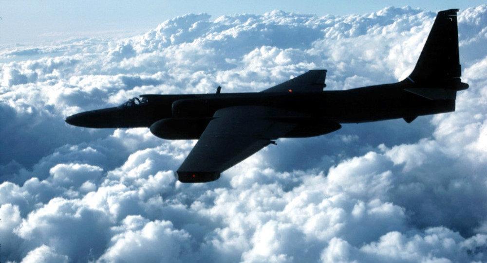 Un avión militar de EEUU (imagen referencial)