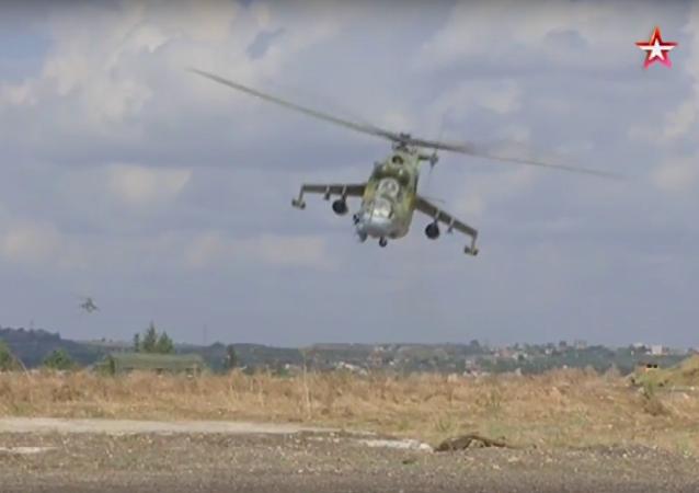 Cazas rusos doblegan al ejército enemigo al completo