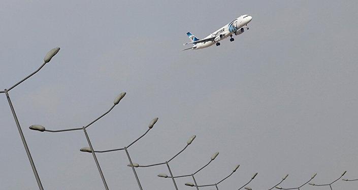 Avión de EgyptAir (archivo)