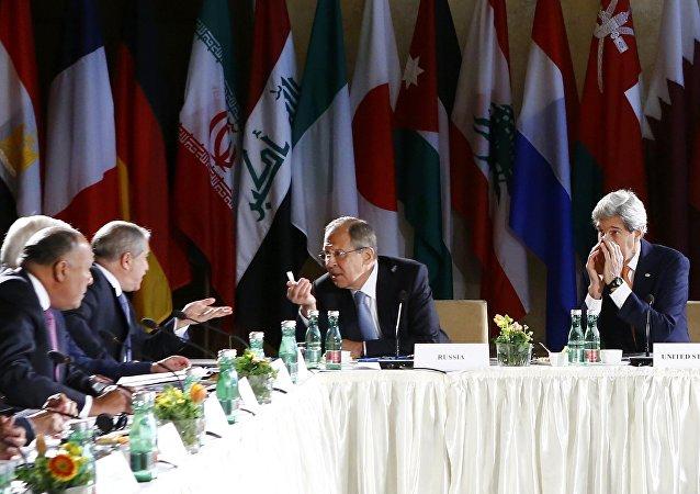 Sesión del Grupo de Apoyo a Siria en Viena