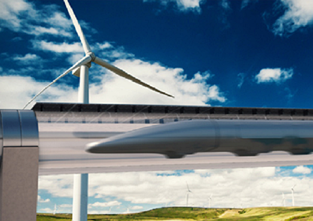 El sistema de transportación Hyperloop