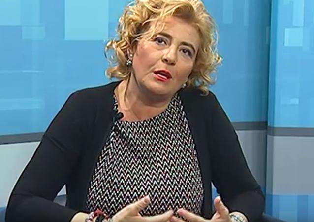 Edda Negri, nieta de Benito Mussolini