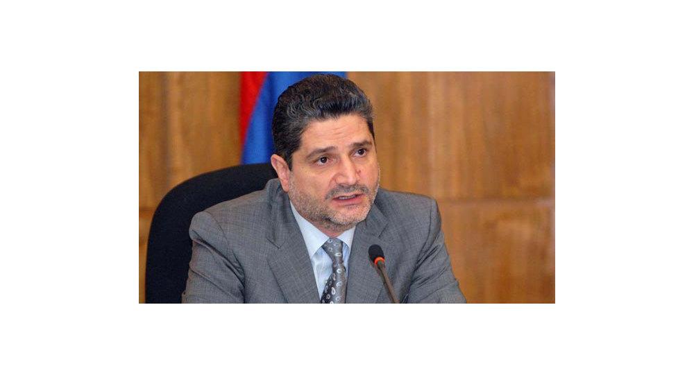Tigrán Sarkisián, presidente de la Comisión de la UEE