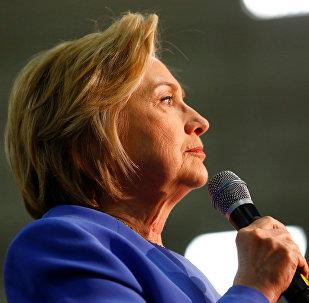 Hillary Clinton, precandidata del Partido Demócrata