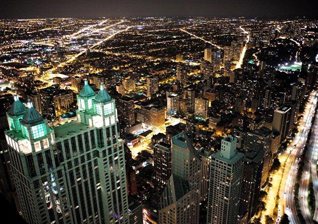 La ciudad de Chicago, EEUU