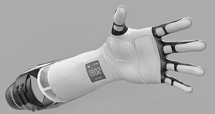 La prótesis para las extremidades superiores creada por la empresa rusa Motorica