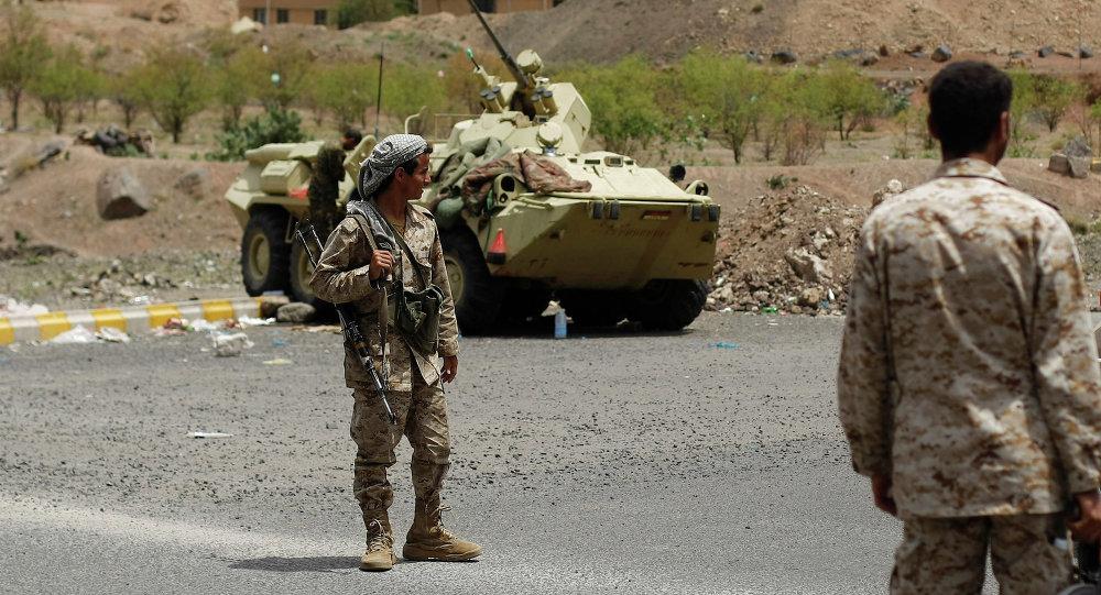 Soldados yemeníes (archivo)