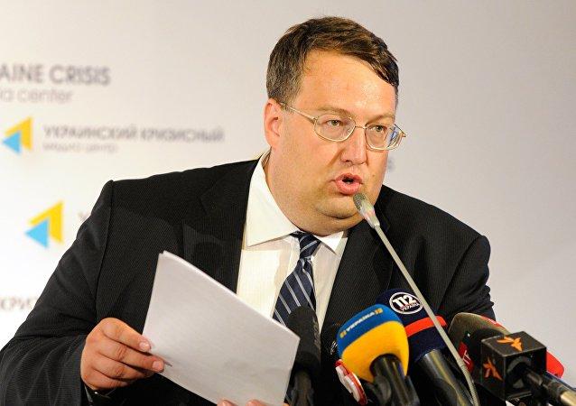 Antón Geráshchenko, el diputado de la Rada Suprema y asesor del ministro de Interior de Ucrania