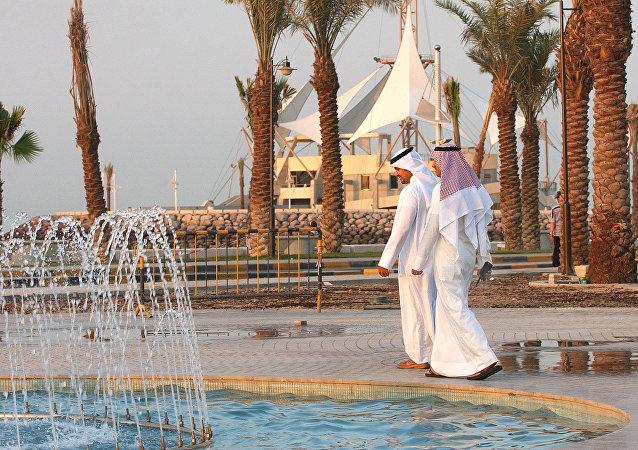 Hombres kuwaitíes