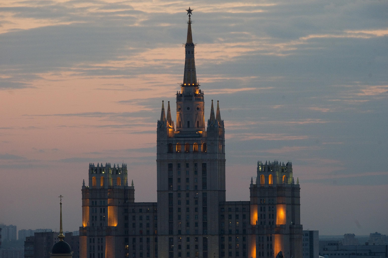 La vivienda de la plaza Kúdrinskaya