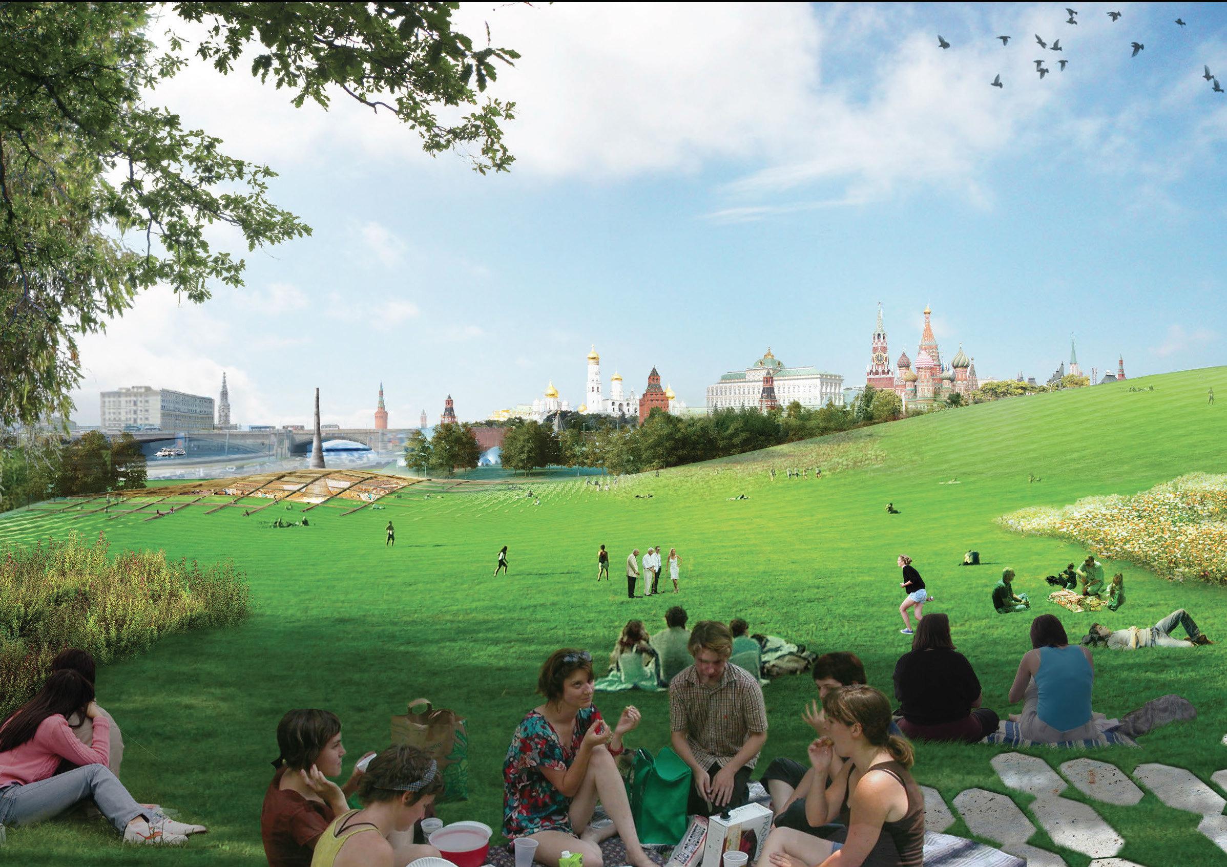 Proyecto del parque Zariadie