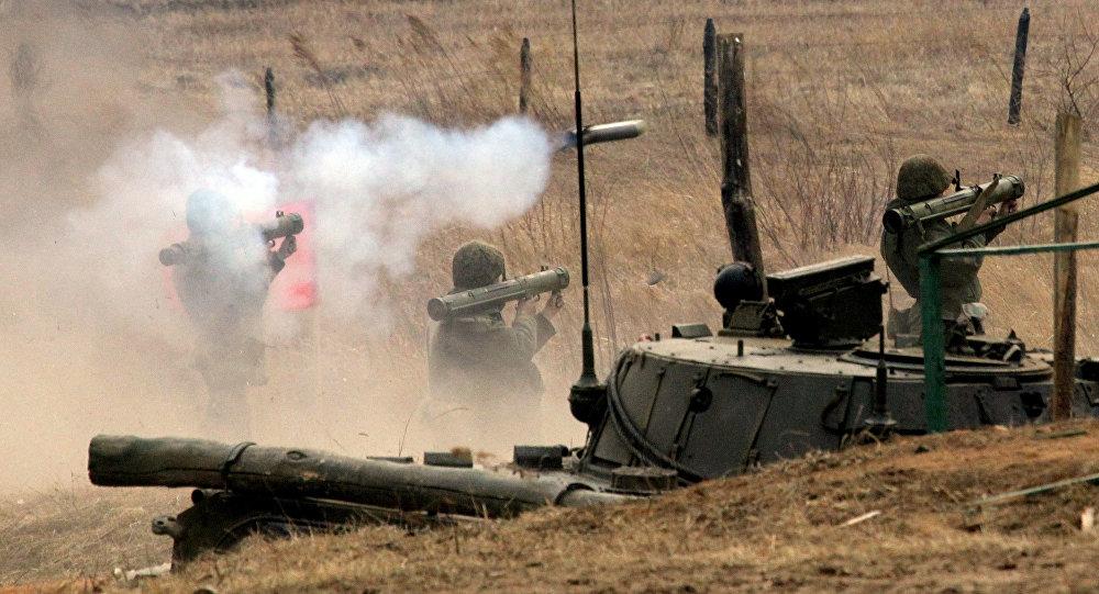 Учения бригады ВДВ РФ на Сергеевском полигоне в Приморском крае