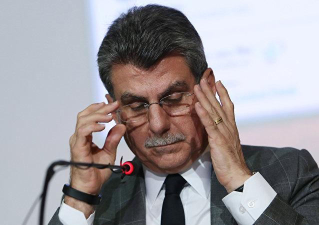 Romero Jucá, ministro brasileño de Planificación