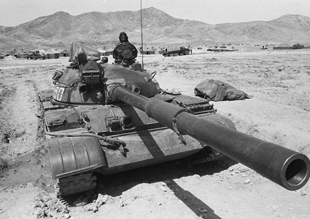 Contingente militar soviético en Afganistán