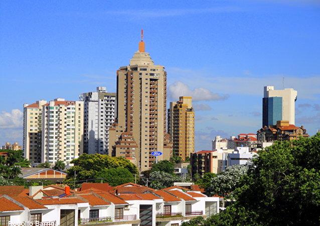 La ciudad boliviana de Santa Cruz de la Sierra