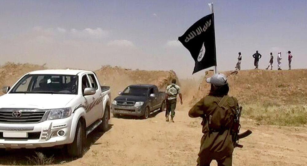 Militantes del grupo yihadista Daesh (archivo)