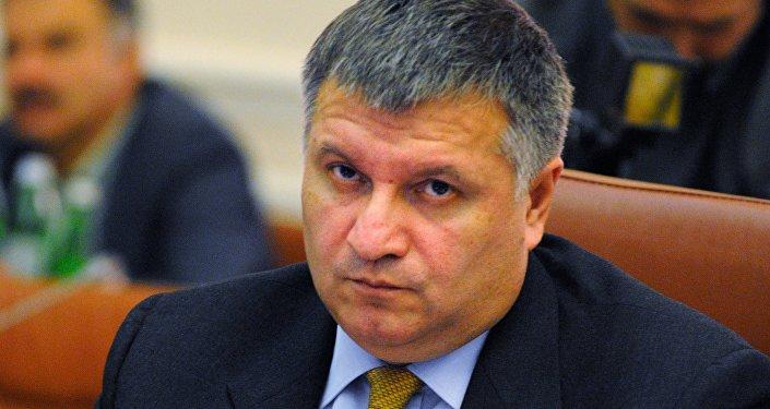 Arsén Avákov, ministro de Asuntos Interiores de Ucrania