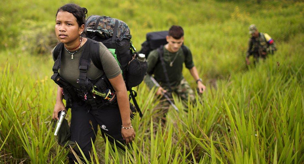 Miembros de la FARC (archivo)