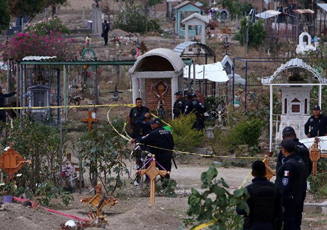 Fosas clandestinas en Morelos, México