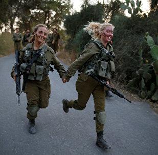 Las militares del Ejército israelí