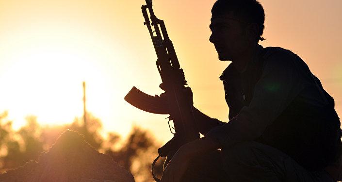 Miliciano kurdo