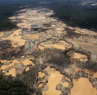 Contaminación con mercurio en Perú