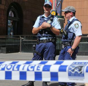 Policía australiana (imagen referencial)