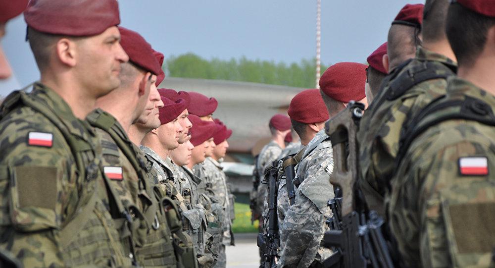 Maniobras de la OTAN en Polonia