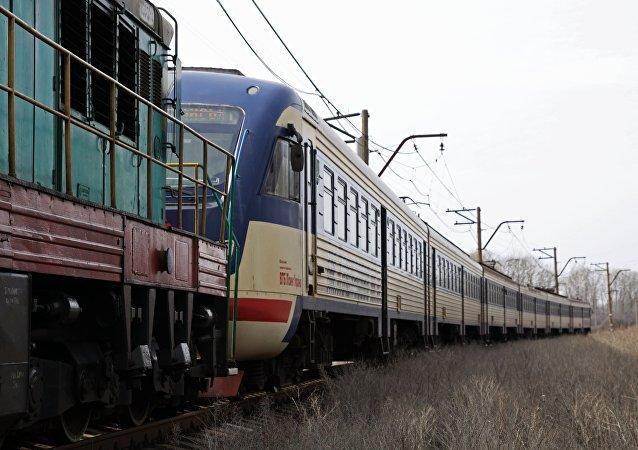 Un tren ucraniano