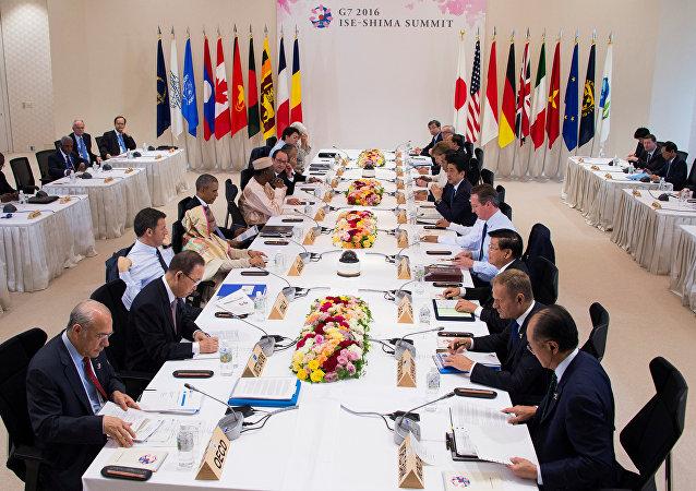 La cumbre del G7 en Japón (archivo)