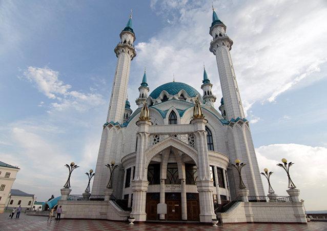 Mezquita Qol Šärif en Kazán, Rusia