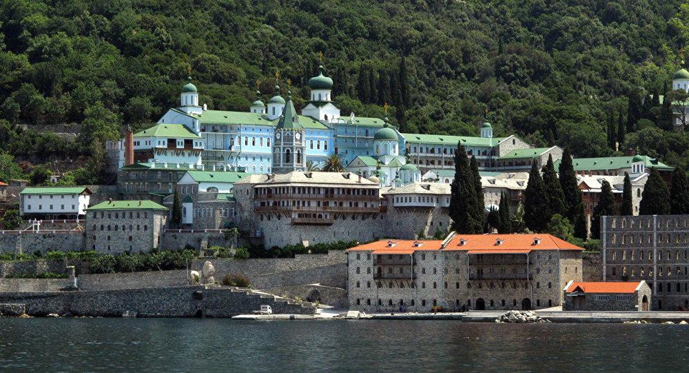 Monasterio ruso de San Pantaleón, el Monte Athos