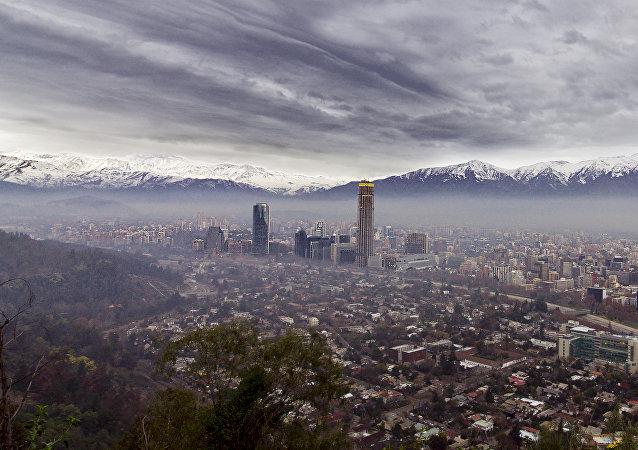 La ciudad de Santiago de Chile