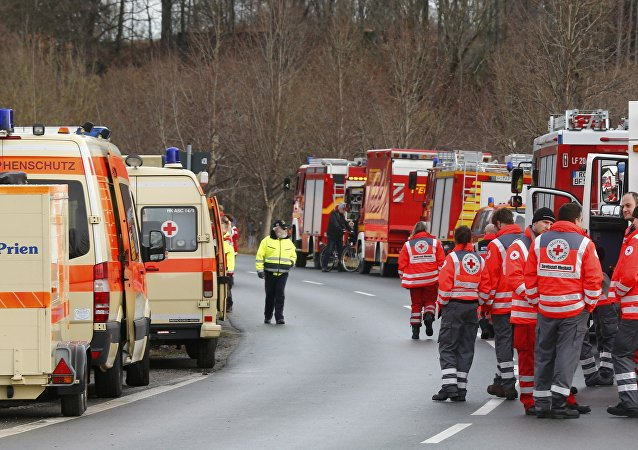 Ambulancias alemanas (imagen referencial)