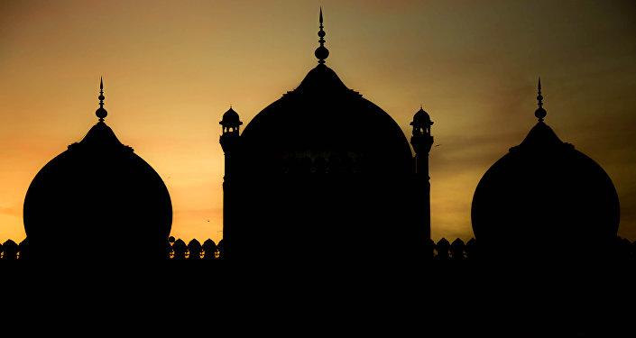 Una mezquita en Pakistán (imagen referencial)