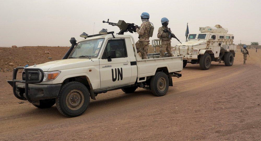 Cascos azules de la ONU en Mali (archivo)