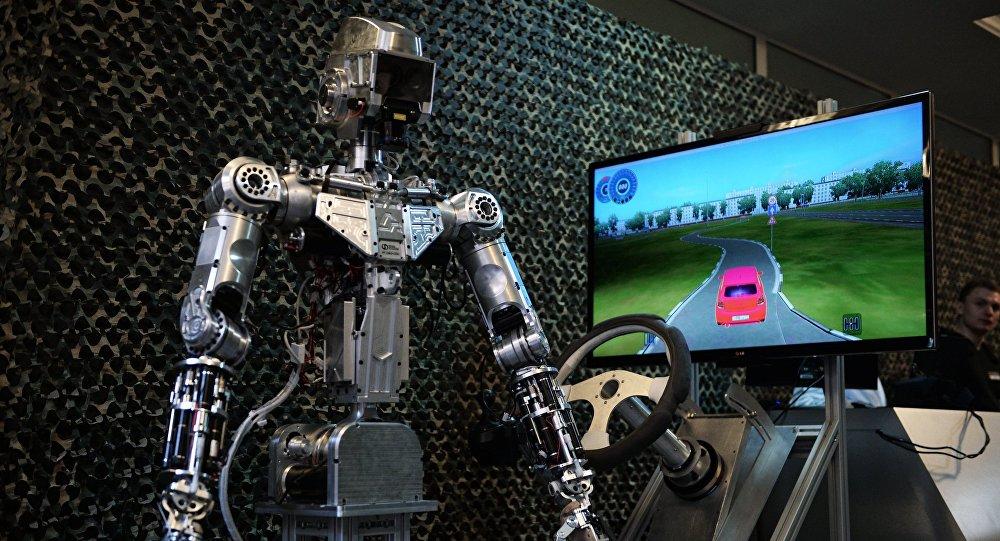 El robot ruso aprende a conducir