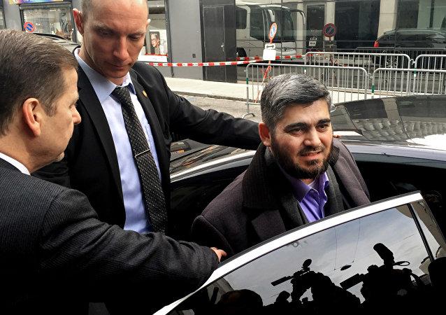 Mohamed Alush, el negociador jefe del Alto Comité de Negociaciones