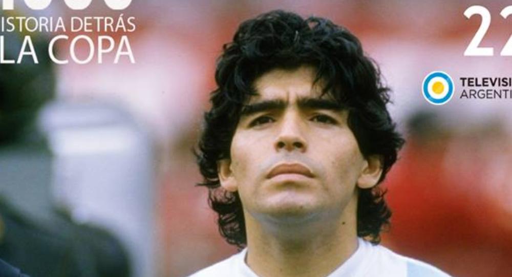 Diego Maradona en el Mundial de 1986