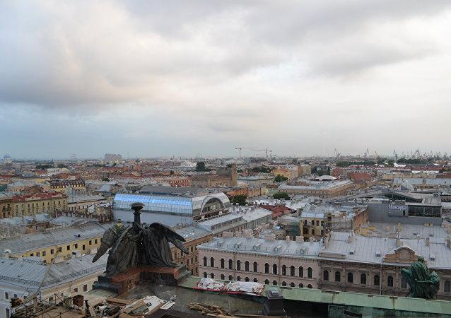La noche blanca en San Petersburgo