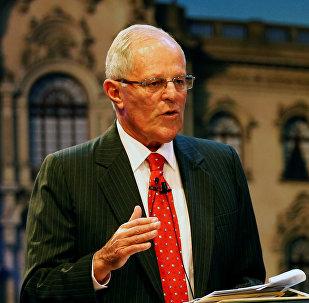 Pedro Pablo Kuzcynski, presidente de Perú (archivo)