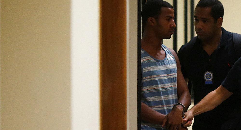 Raí de Souza, sospechoso de participar en la violación sexual